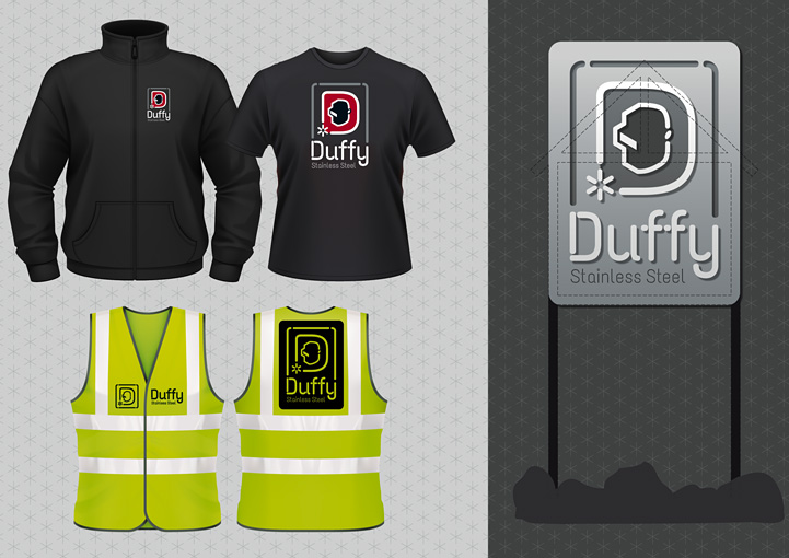 Duffy Stainless Steel clothing design