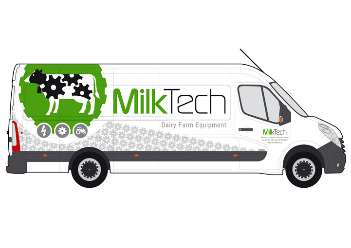 MilkTech van design right