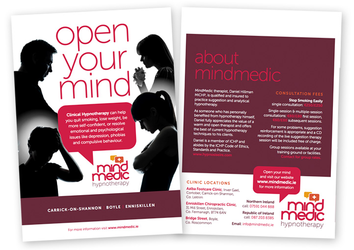 MindMedic flyer design