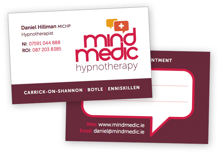 MindMedic business card design